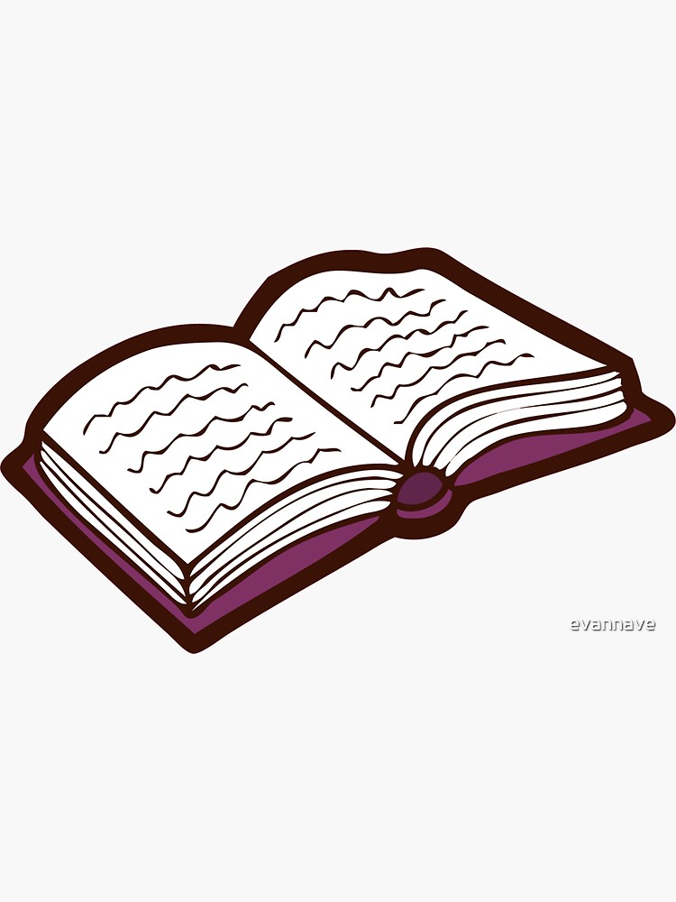Bookish Reading Pattern in Pink by evannave