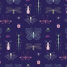 « Motif insectes » par Aurélie DEVE