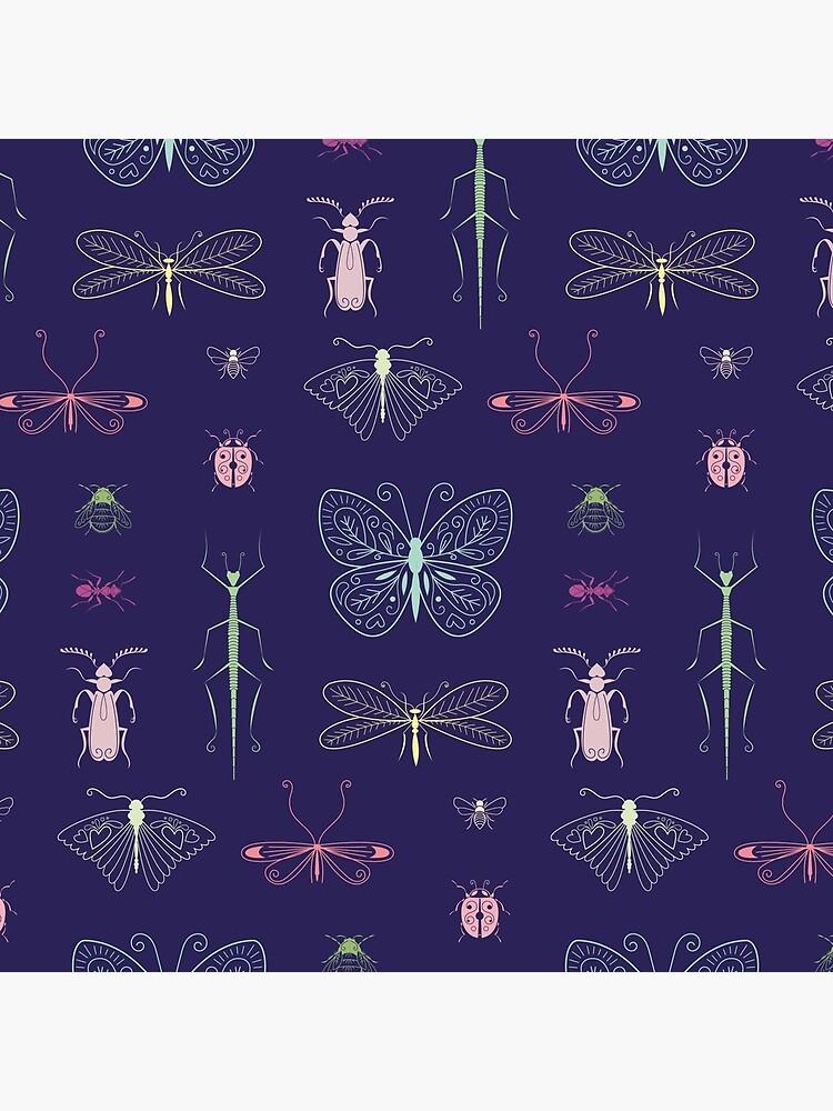 «Motif insectes» par OGraphinerie