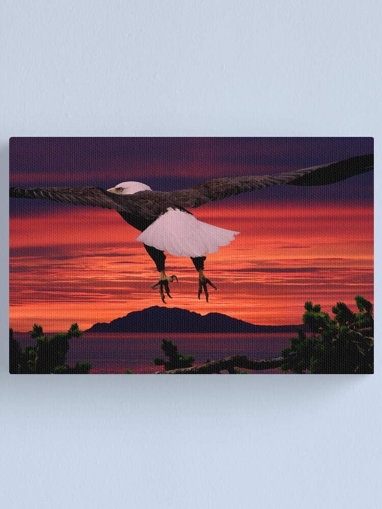 Alternate view of Into the Sunset Canvas Print
