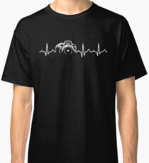 39ab89f99 Photographer T-Shirt - Heartbeat Classic T-Shirt