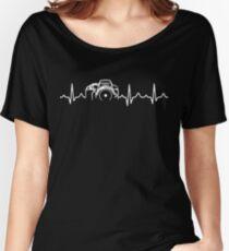 Fotograf T-Shirt - Herzschlag Loose Fit T-Shirt