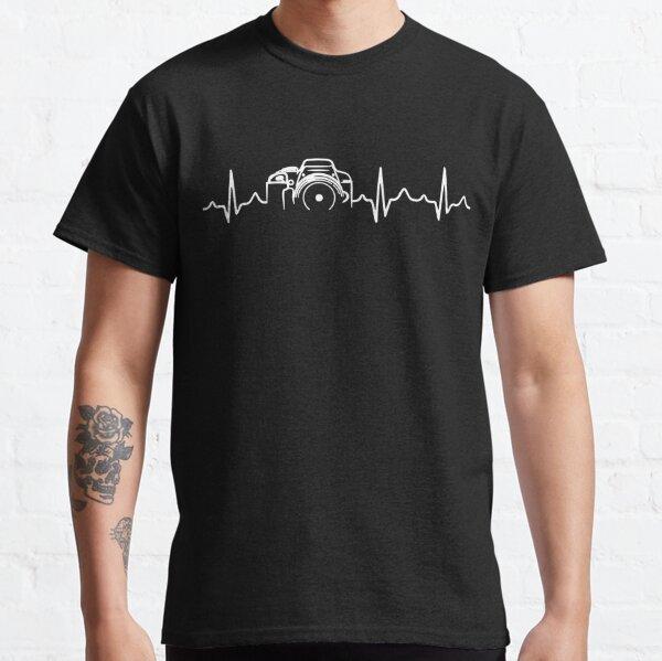 Photographer T-Shirt - Heartbeat Classic T-Shirt