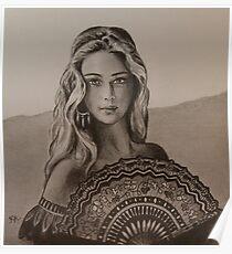 Girl from Santa Fe Poster