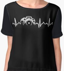Photographer T-Shirt - Heartbeat Chiffon Top