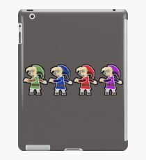 Four Swords A Link Between Worlds Wall Art Style iPad Case/Skin