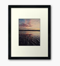 Blue Sea Framed Print