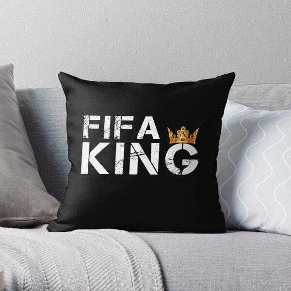 FIFA KING Throw Pillow
