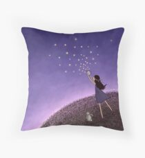 Brave Heart Throw Pillow