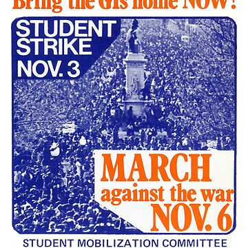 1971 March Against the War by historicimage