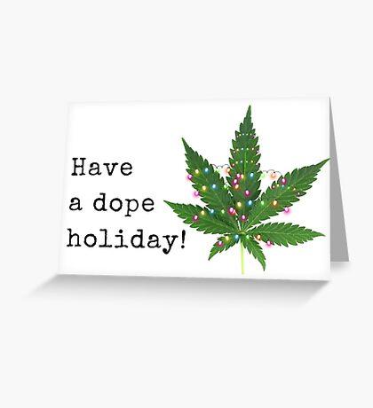 Dope tarjeta de Navidad, Regalos, Regalos, Mejor amigo, Amigo, Amigos, Novio, Novia, Esposo, Esposa, Tarjetas de felicitación de Meme, Paquetes de pegatinas, ¡Tenga unas vacaciones estupendas! Tarjeta de felicitación