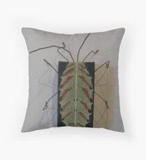 true bug - mozena lunata Throw Pillow