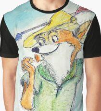 Comic Robin Hood Grafik T-Shirt