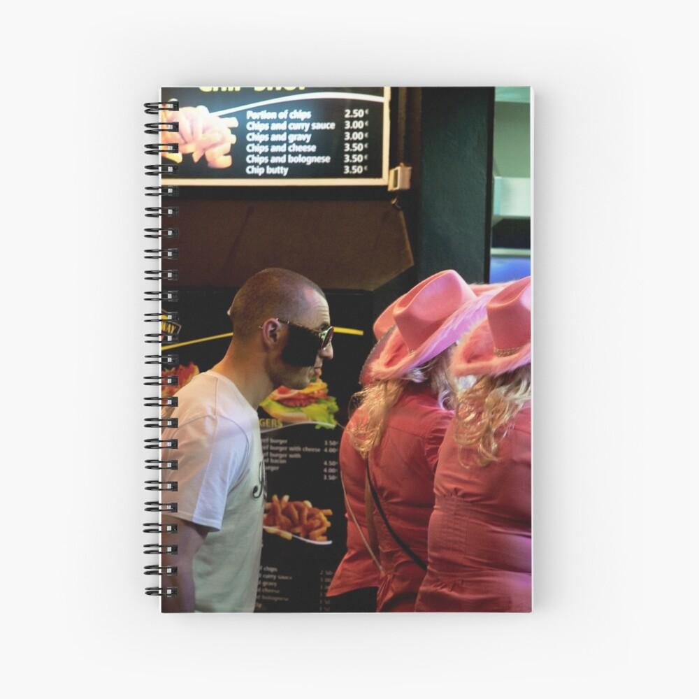 Chips & Burger or Chips & Kebab? Spiral Notebook