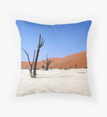 Sossusvlei, Namibia Africa Throw Pillow