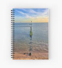 Chalkwell Sea Groin Spiral Notebook