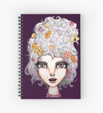 Gingerbread Witch Spiral Notebook