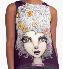 Gingerbread Witch Contrast Tank