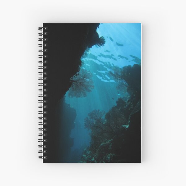 Gorgonian swim through Spiral Notebook