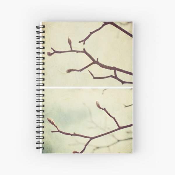 Spring - Plum Tree Spiral Notebook