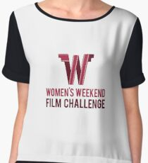 Women's Weekend Film Challenge Chiffon Top