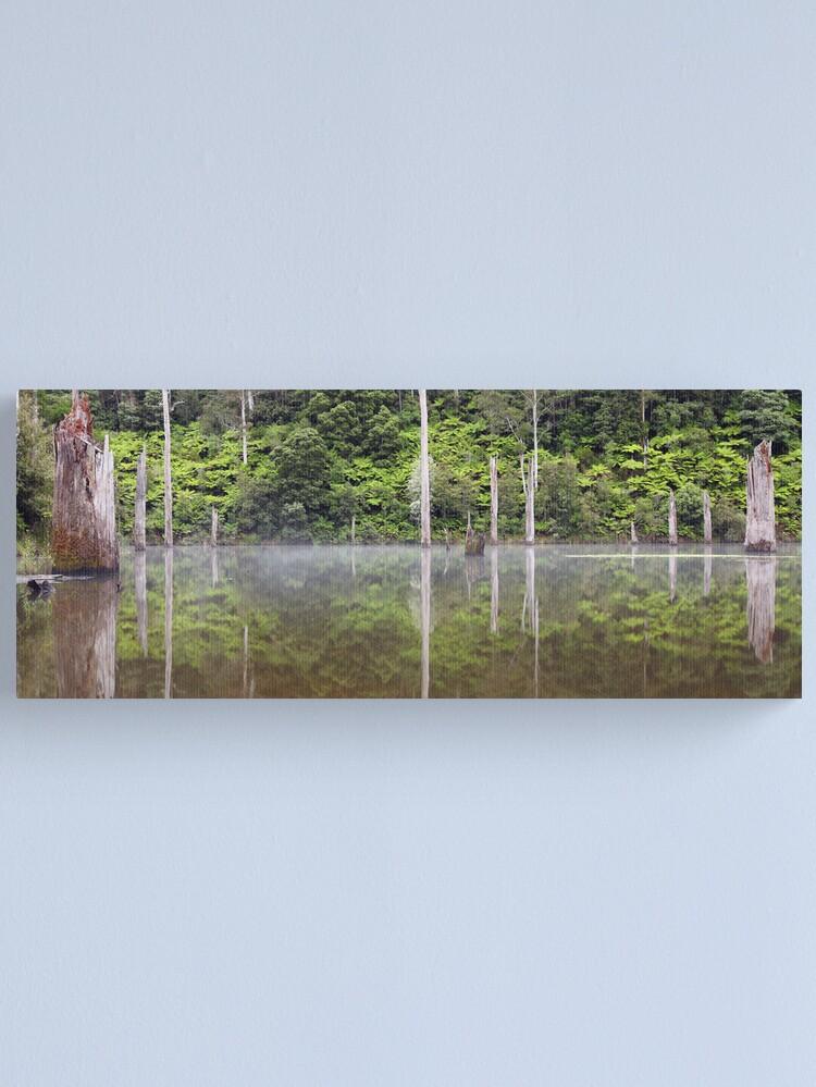Alternate view of Lake Elisabeth, Otways National Park, Australia Canvas Print