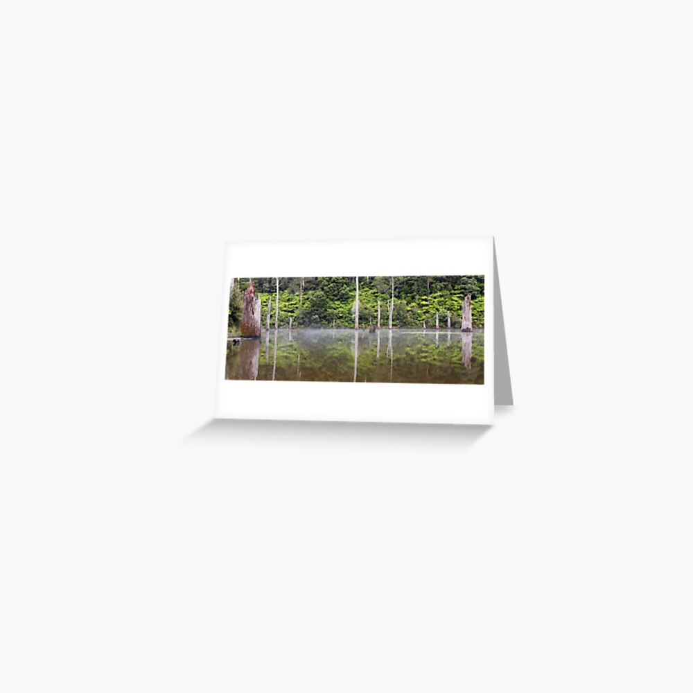 Lake Elisabeth, Otways National Park, Australia Greeting Card