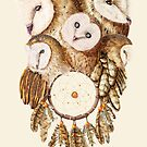 Dreamcatcher Owls by DVerissimo