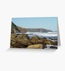 Rocky Outcrop Greeting Card