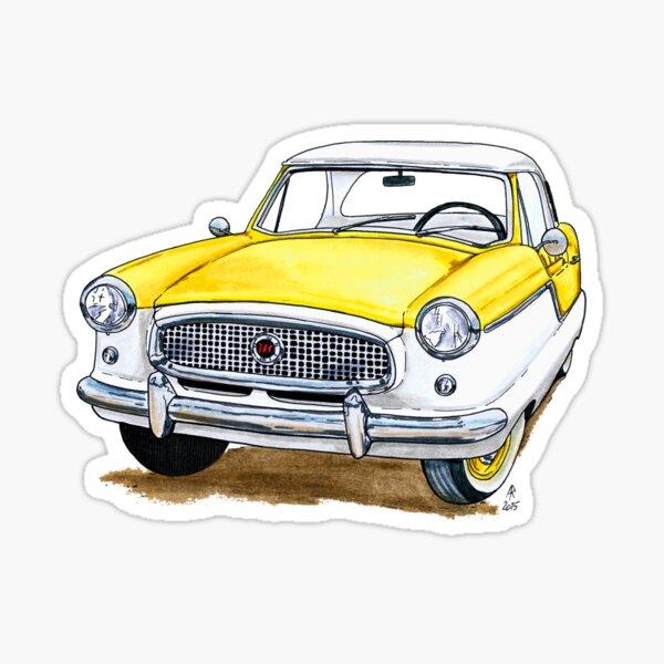 Nash Metropolitan - Yellow Sticker