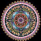 Cycles of Life Mandala by Julie Ann Accornero