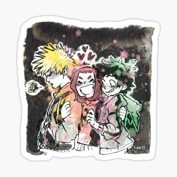 Deku Baku Uraraka Sticker