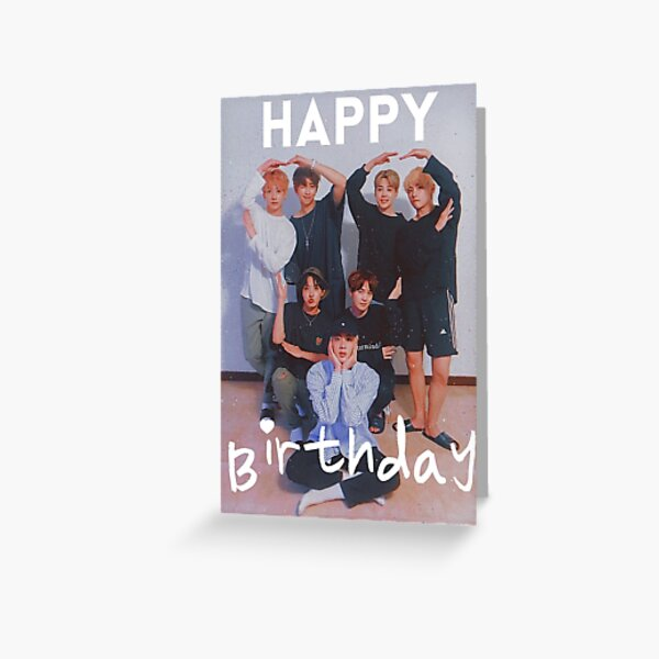 Happy Birthday BTS Greeting Card