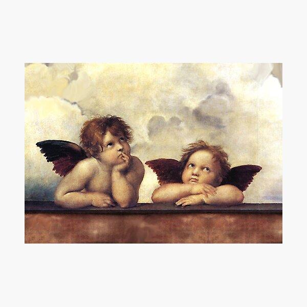 RENAISSANCE ANGELS Winged Cherubs Photographic Print