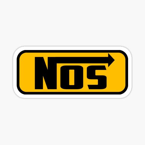 NOS. Sticker