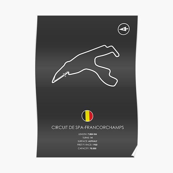 Circuit De Spa-Francorchamps Poster