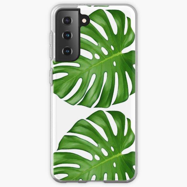 Monstera Deliciosa Leaf Samsung Galaxy Soft Case