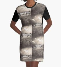 1985 Time Machine Graphic T-Shirt Dress
