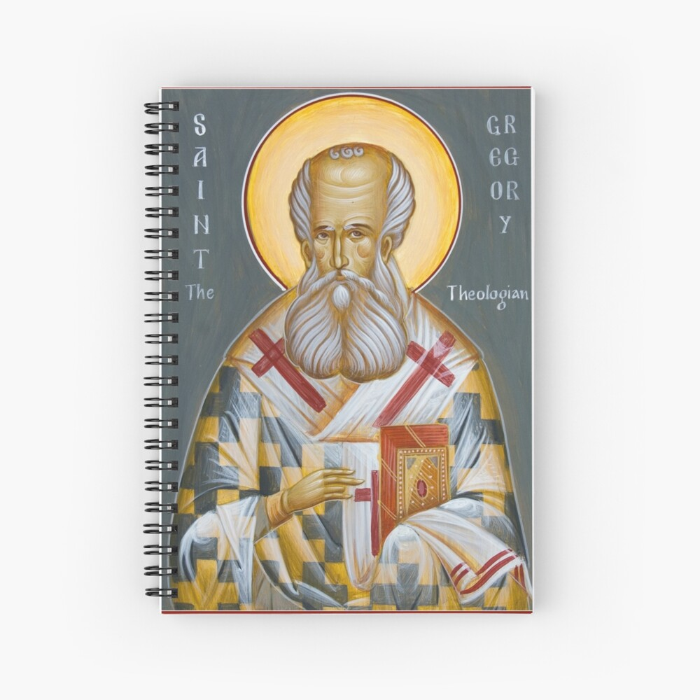 St Gregory the Theologian Spiral Notebook