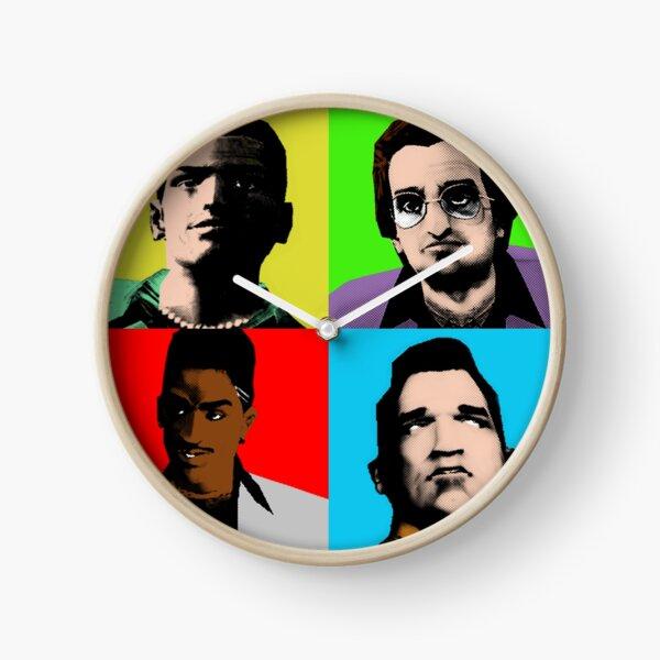 Vice City Pop-art Clock