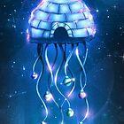 Christmas Jellyfish by schwebewesen