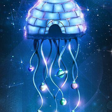 Weihnachten Qualle von schwebewesen