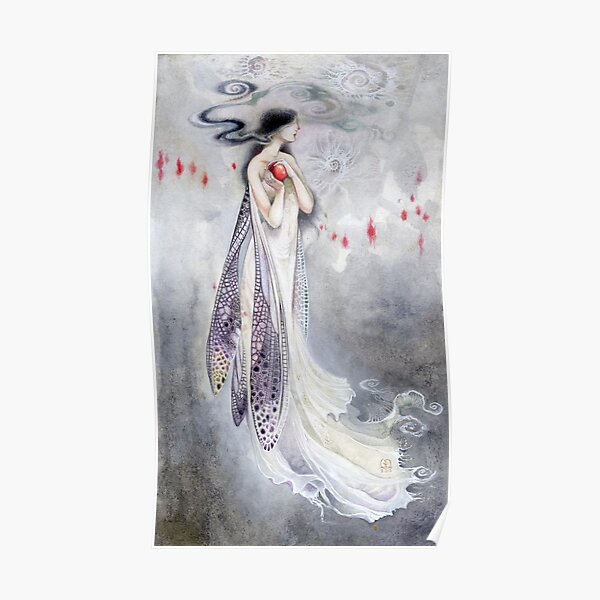 Sylph dragonfly fairy  Poster