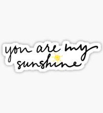 Du bist mein Sonnenschein Sticker