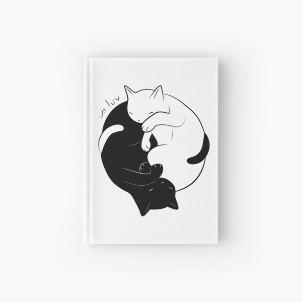 Eternal Cat Love Hardcover Journal