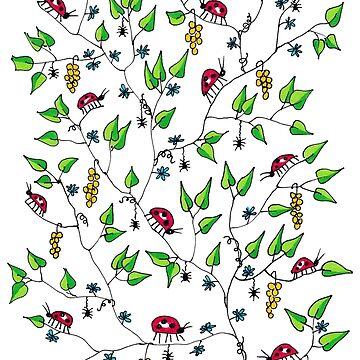 Ladybird Pattern by cuprum