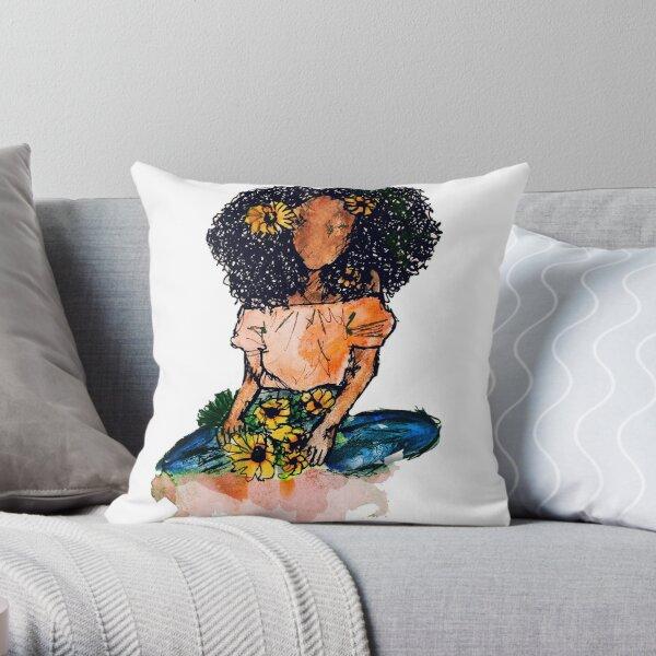 Abeba 3  Throw Pillow