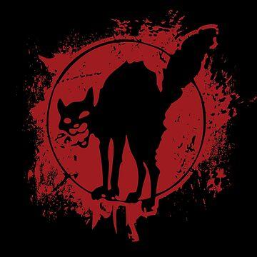 Anarchist Black Cat by radvas