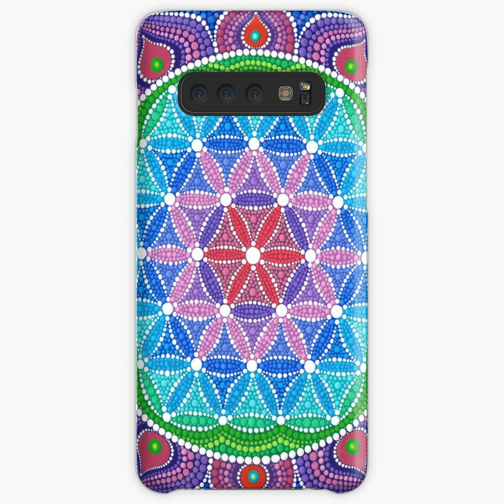 Lotus Flower of Life Cases & Skins for Samsung Galaxy
