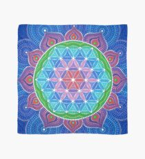 Lotus Flower of Life Tuch